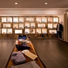 Interior views of concept store 290sqm in Amsterdam