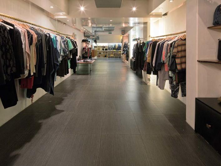 Interior views of concept store 290sqm in Amsterdam