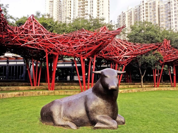 Jing'an Sculpture Park 静安雕塑公园