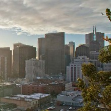 Embacadero view, San Francisco, California, USA