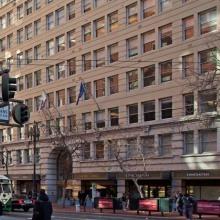 Financial district, San Francisco, California, USA