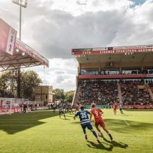 Fußball, 2.Liga, Saison, 2014/15, 1.FC Union Berlin - MSV Duisburg