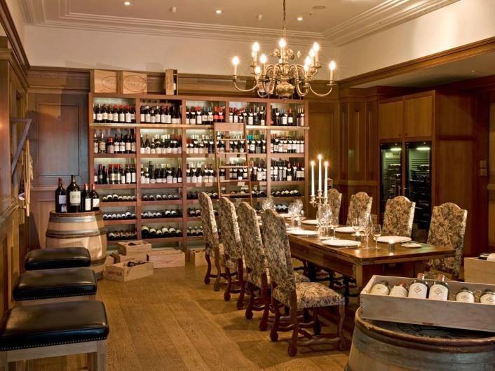 Restaurant, Bar, Adlon Holding, Weinhandlung, Übersicht