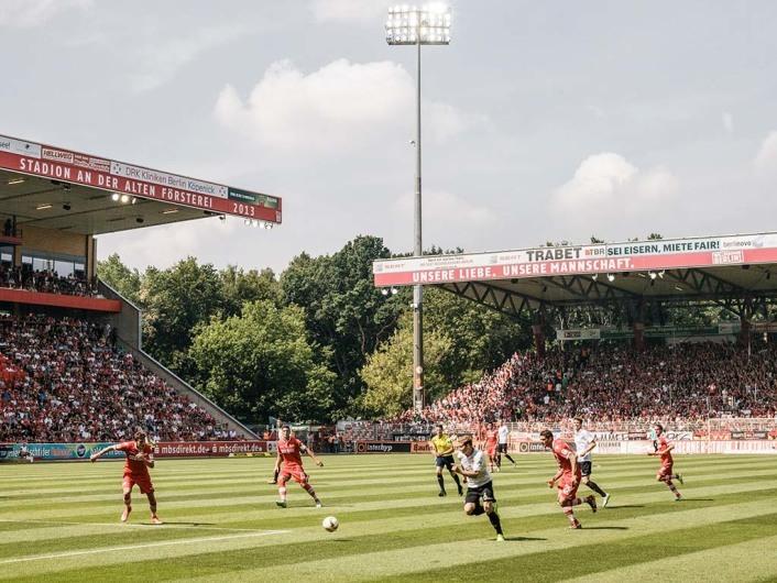 Fußball: 2. Bundesliga, Saison 2014/15, 1.FC Union Berlin gegen 1.FC Kaiserslautern 2:2