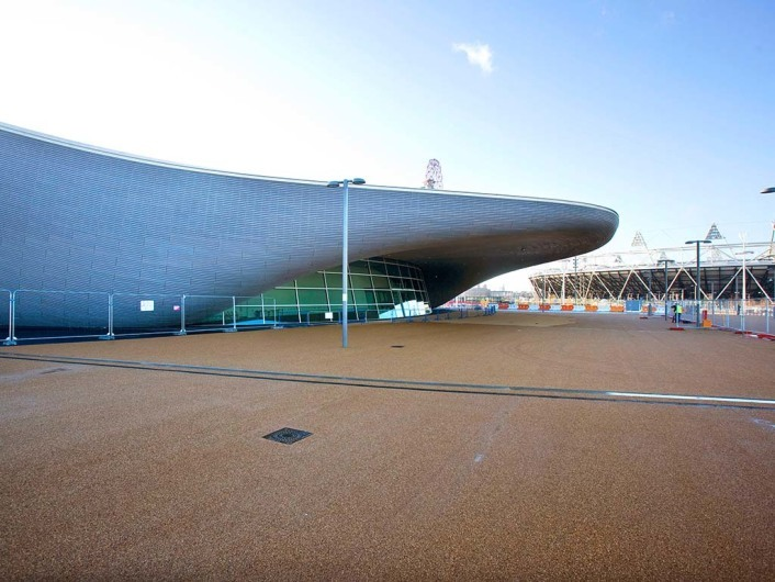 Pictured is the Aquatics Centre on the Olympic Park. Picture by David Poultney. @ LOCOG