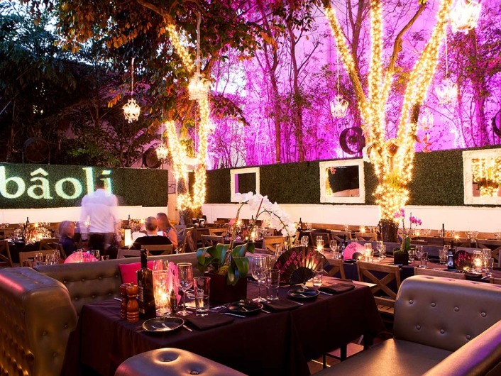 Baoli Lounge Bar Restaurant, Miami Beach, South Beach, Florida, USA