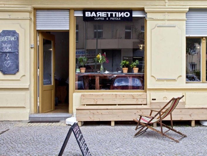 Barettino Café, Neukölln, Berlin, Germany