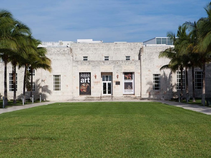 Bass Museum, Miami Beach, Florida, USA