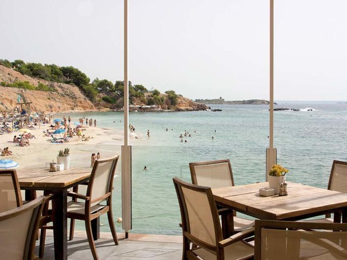 Beach Alm, Restaurant, Puerto Portals, Mallorca, Spain