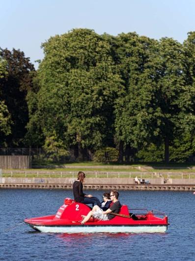 Bootsvermietung auf der Liebesinsel