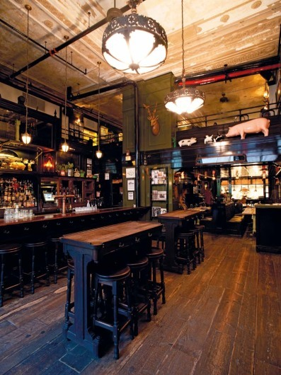The Breslin - Bar and Dining Room NYC)