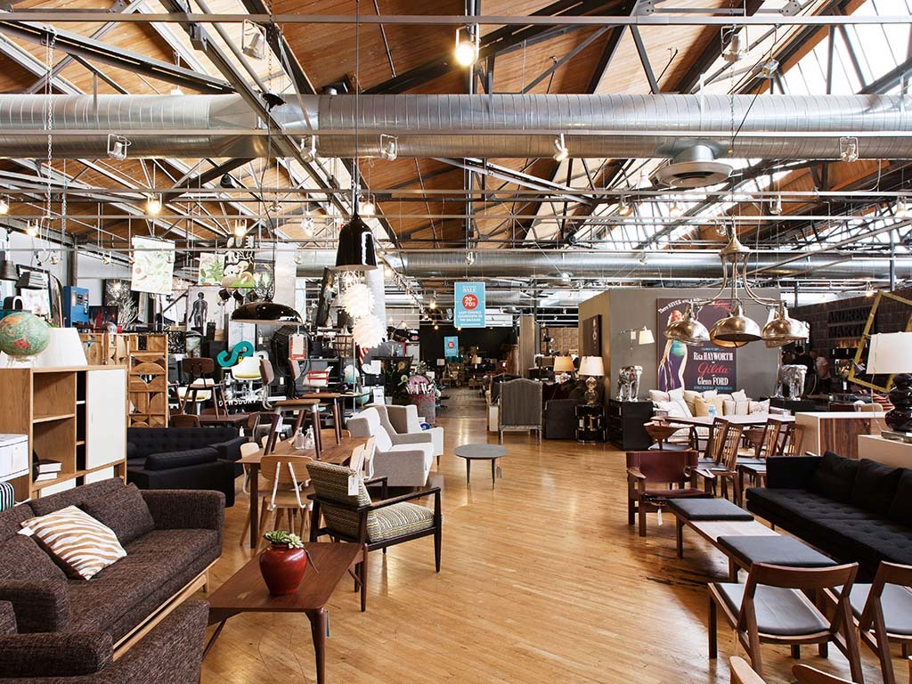 Buttercup Furniture Store At Helms Bakery, Culver City Los Angeles