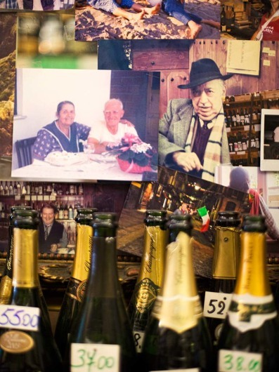 Authentic family run Enoteca with huge wine collection