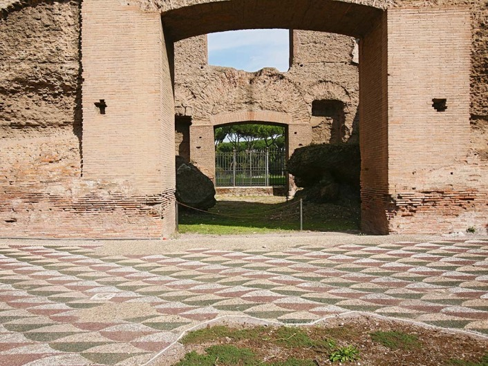 Terme di Caracalla (rom)http://de.wikipedia.org/wiki/Caracalla-Thermen