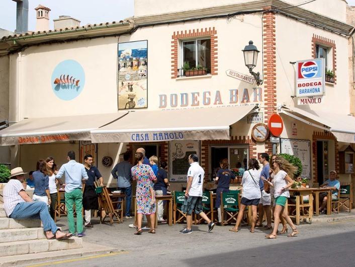 Casa Manolo, Restaurant, Se Salines, Mallorca, Spain