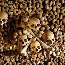 Les Catacombes, Paris, France