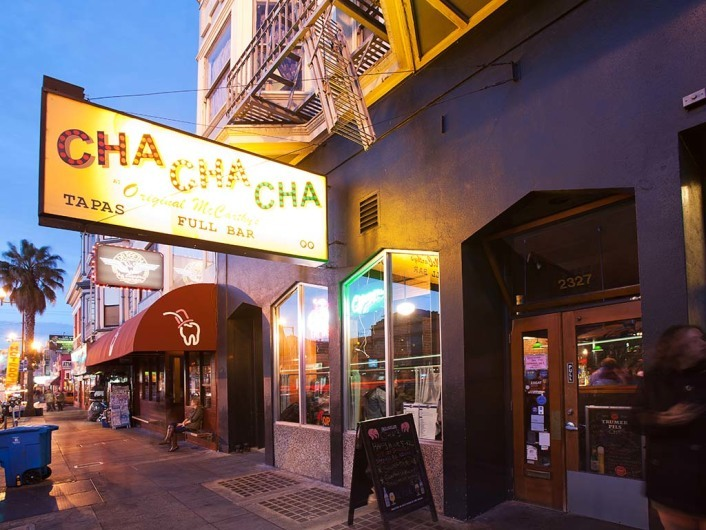 Cha Cha Cha, San Francisco, California, USA