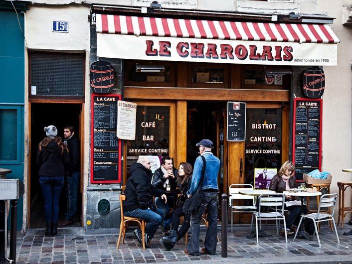 Restaurant & Bar Le Charolais in Paris, France