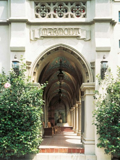 Chateau Marmont, West Hollywood, California, USA