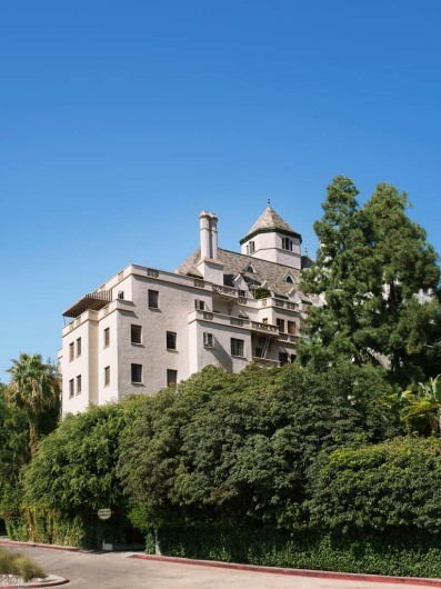 Chateau Marmont, West Hollywood, California, USA