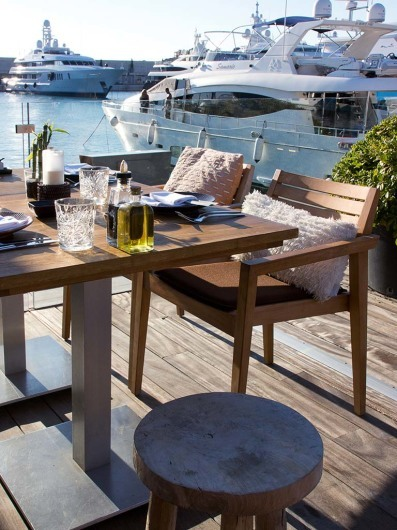 Coast by East, Restaurant, Port Adriano, Mallorca, Spain