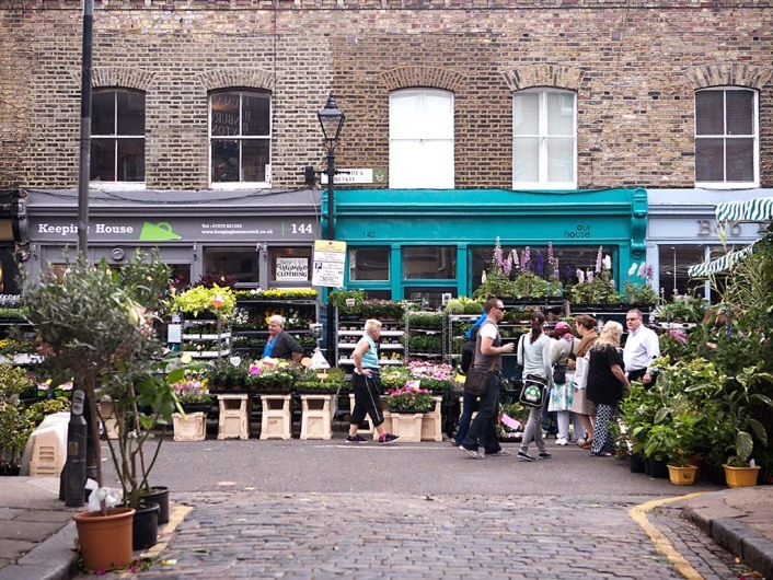 Columbia Road Flower Market & Shops