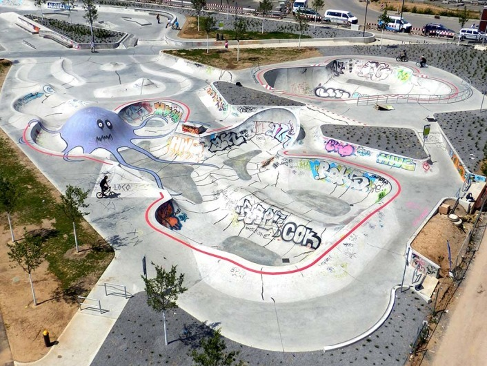 Skatepark Concrete Jungle