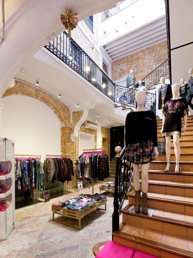 Custo, shop, Palma, Mallorca, Spain