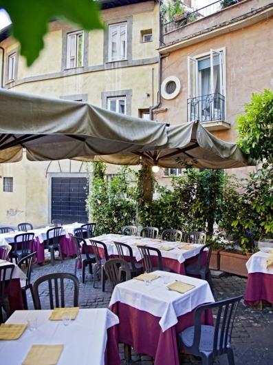 Da Teo, Trastevere, Rome, Italy