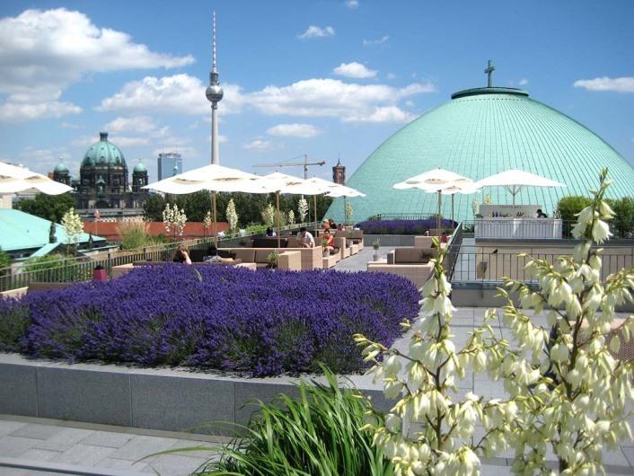 Hotel De Rome Berlin Dachterrasse