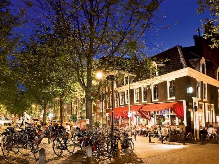 Bruine Café Thijssen, Lindengrracht, Jordaan