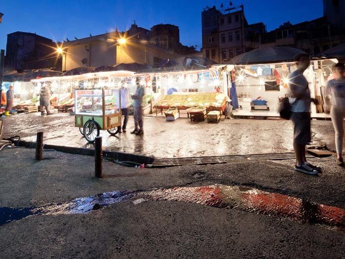 Fisch Market Galata Bridge, Istanbul, Turkey