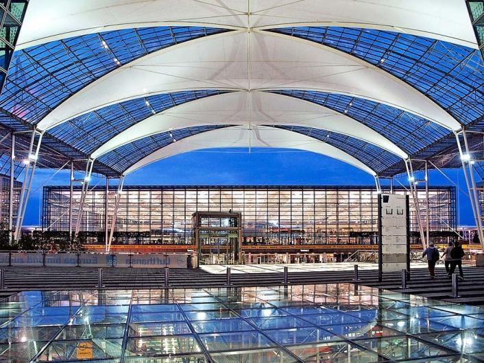 Terminal 2 Flughafen M 252 Nchen