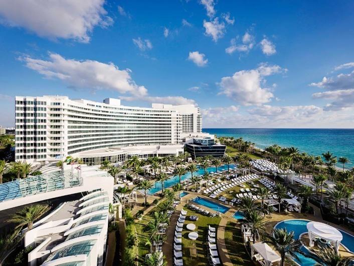Fontaine Bleau, Miami, Florida, USA