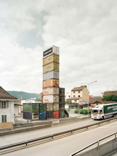 Freitag Turm, Zurich, Switzerland