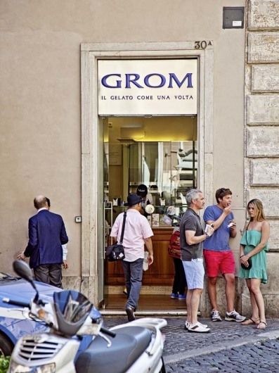 Grom, Rome, Italy