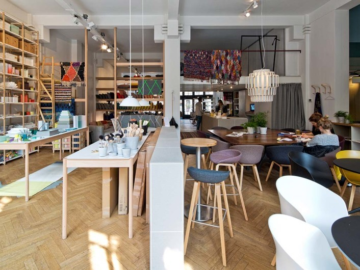Interior and concept store Hay in Amsterdam