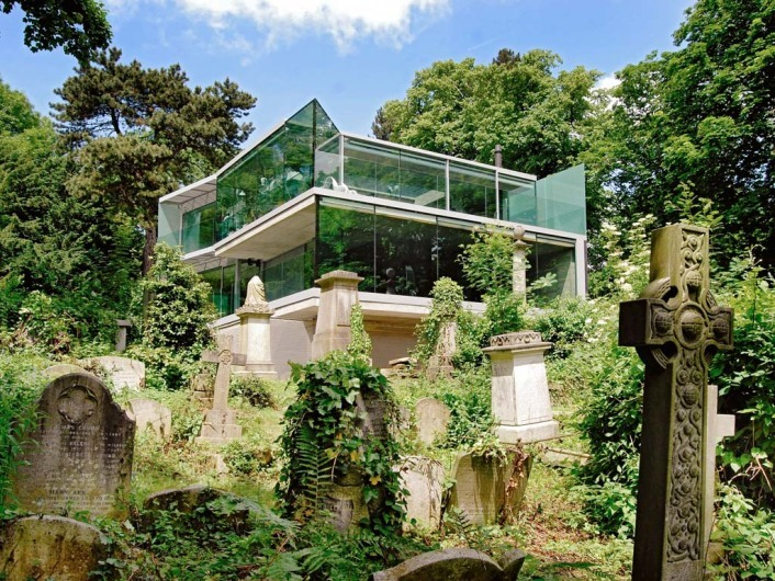 House in Highgate Cemetery