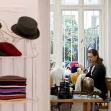 German hat maker Isabelle von Maltzahns Studio and Shop