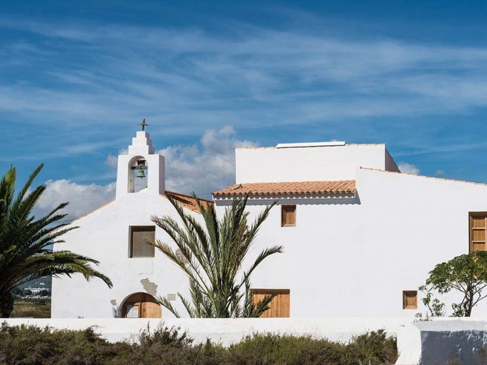 Iglesia Sant Francesc, Sant Josep, Ibiza, Spain