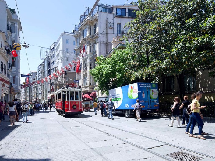 Istiklal, Istanbul, Turkey