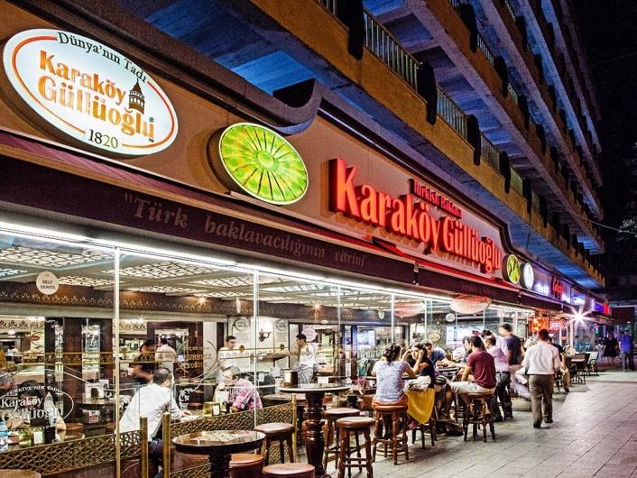 Karakoey Guellueoglu, Istanbul, Turkey
