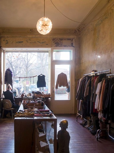 kims second hand boutique, Kreuzberg, Berlin, Germany