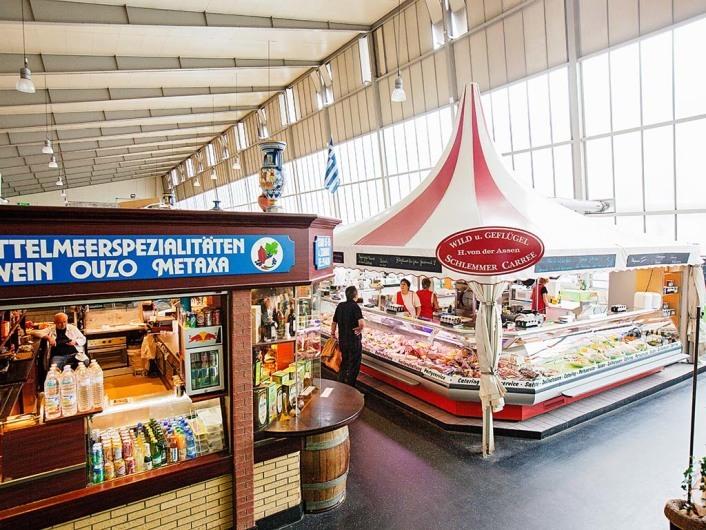 Die Kleinmarkthalle, Stand Alla Vita Buona, Frankfurt am Main