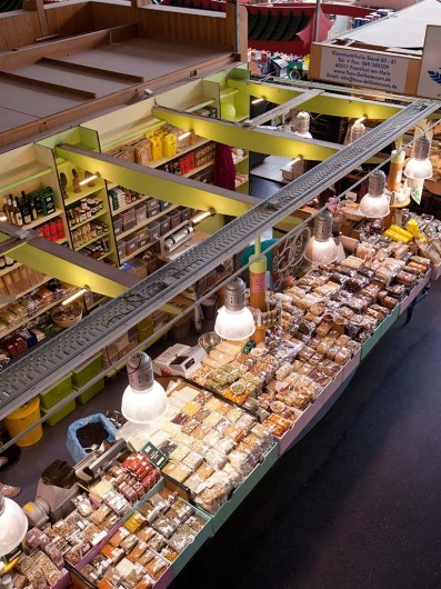 Die Kleinmarkthalle, Frankfurt am Main