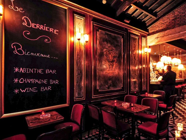 Le Derriere at Q Bar, Bangkok, Thailand