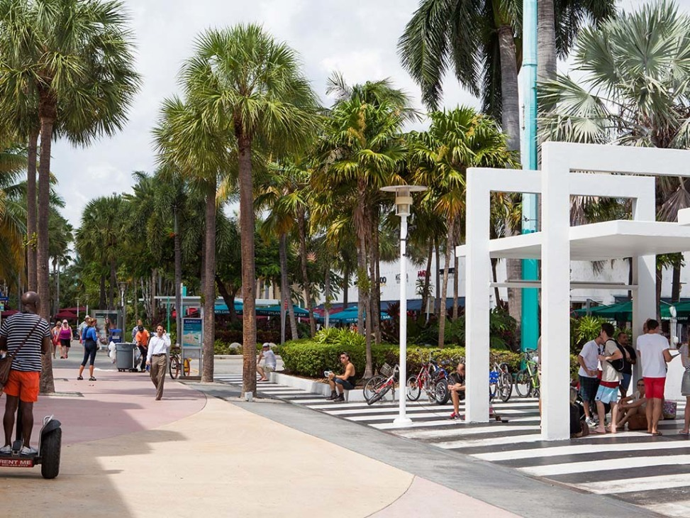 Lincoln Rd Mall South Beach Miami