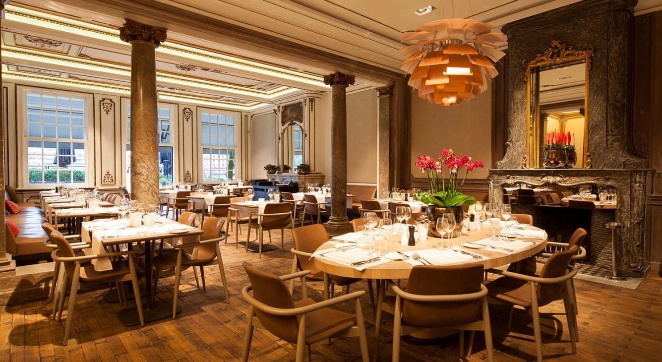 Lux restaurant for Raumgestaltung restaurant