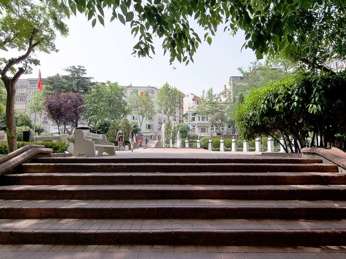 Macka Park, Istanbul, Turkey