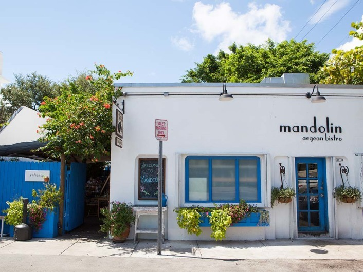 Mandolin, Restaurant, Miami, Design District, Florida, USA